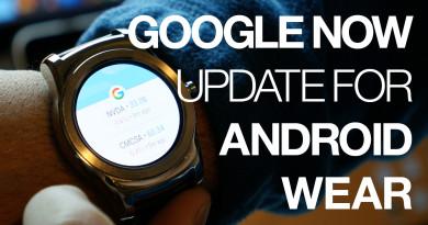 google now update