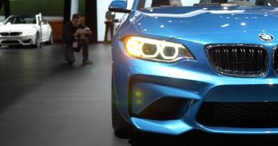 bmw m2 from NY international auto show