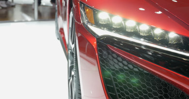 Acura NSX headlight