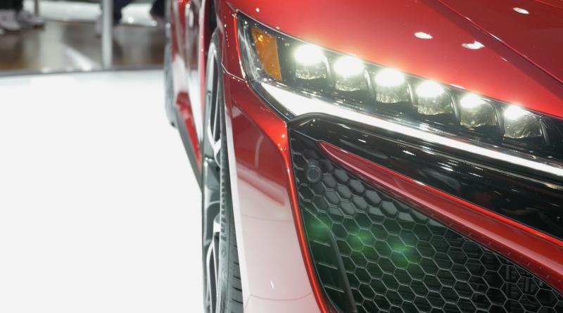 Acura NSX headlight